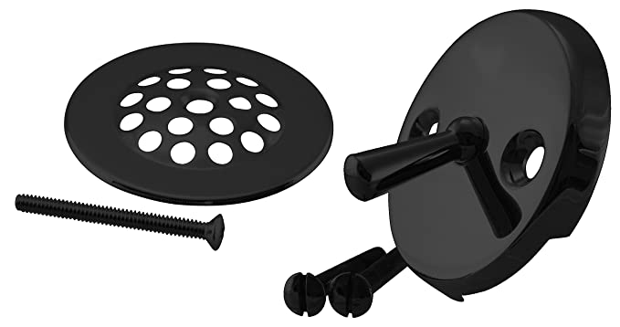 Amazon.com: Westbrass D324-20G-62 Beehive Grid Bath Waste-22 Make-Up, 20 Ga. Tubing, Matte Black: Home Improvement