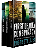 First Deadly Conspiracy: Crime Thriller Box Set (Mac McRyan Mystery Series, Books 1-3) (English Edition)