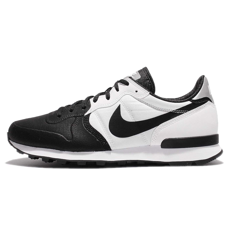 Nike Herren Internationalist Prm Se Sneaker, Schwarz  40 EU Nero (Black/Black/White)