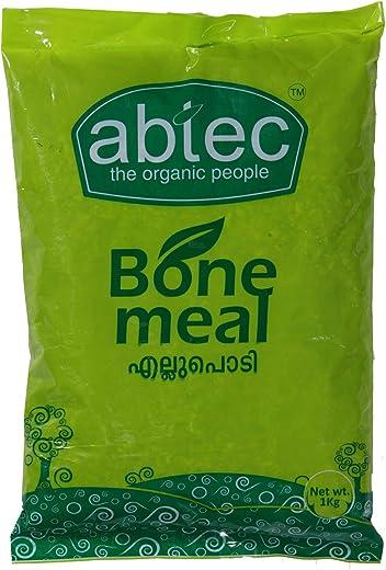 Abtec Bone Meal Organic Plant Fertilizer - N, P, K, Ca Rich (1kg)