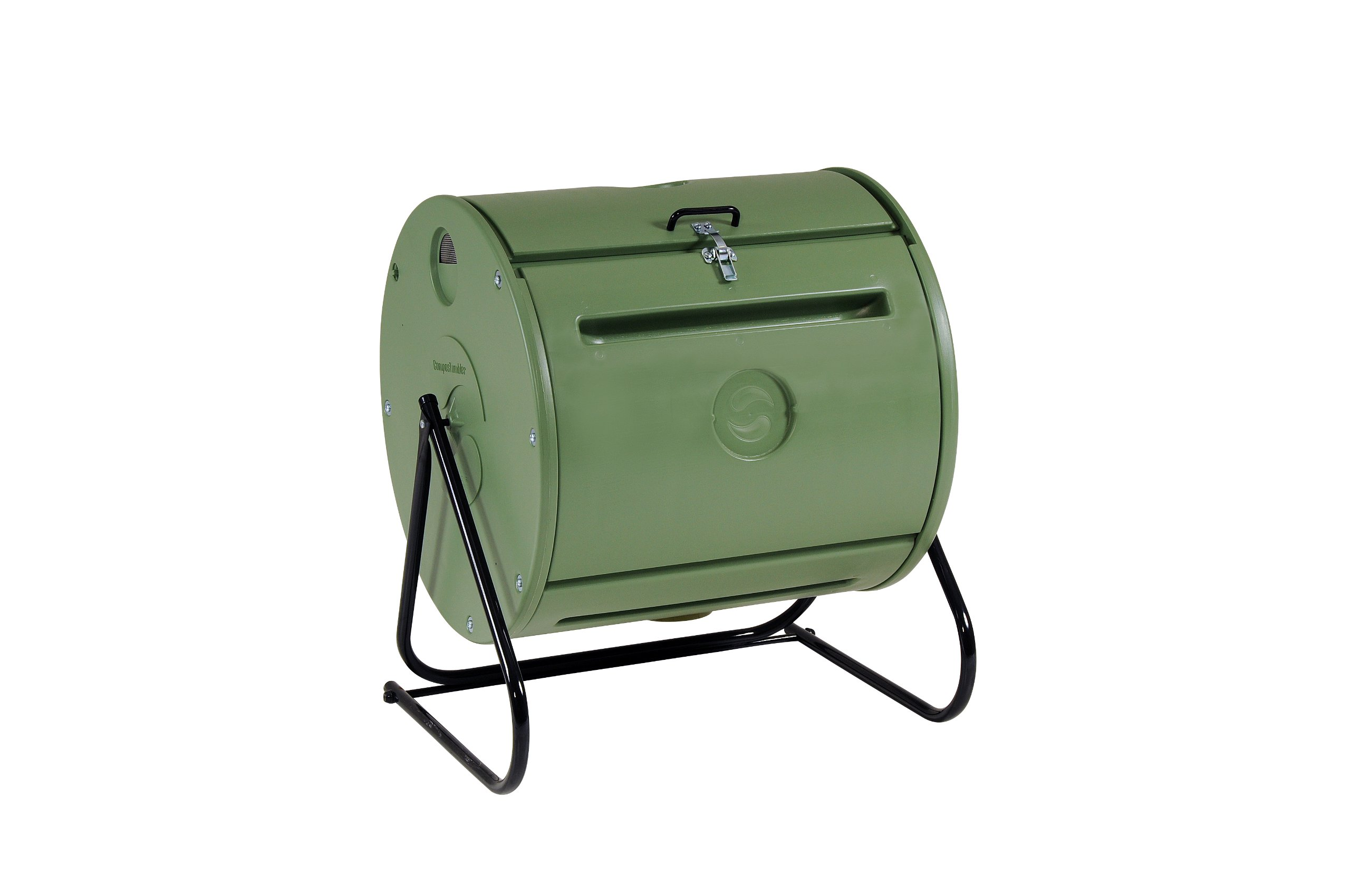 Mantis Easy Spin ComposTumbler CT09001 - Engineered to Make Compost Fast - Holds 37 Gallons - Low Cost per Gallon - Turns Easily - Fits Anywhere by Mantis