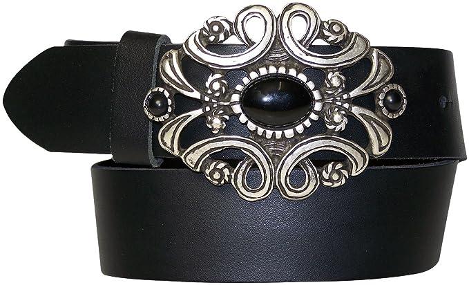ea5584e3d00 Fronhofer Ceinture pour femme avec une magnifique boucle bijou ...