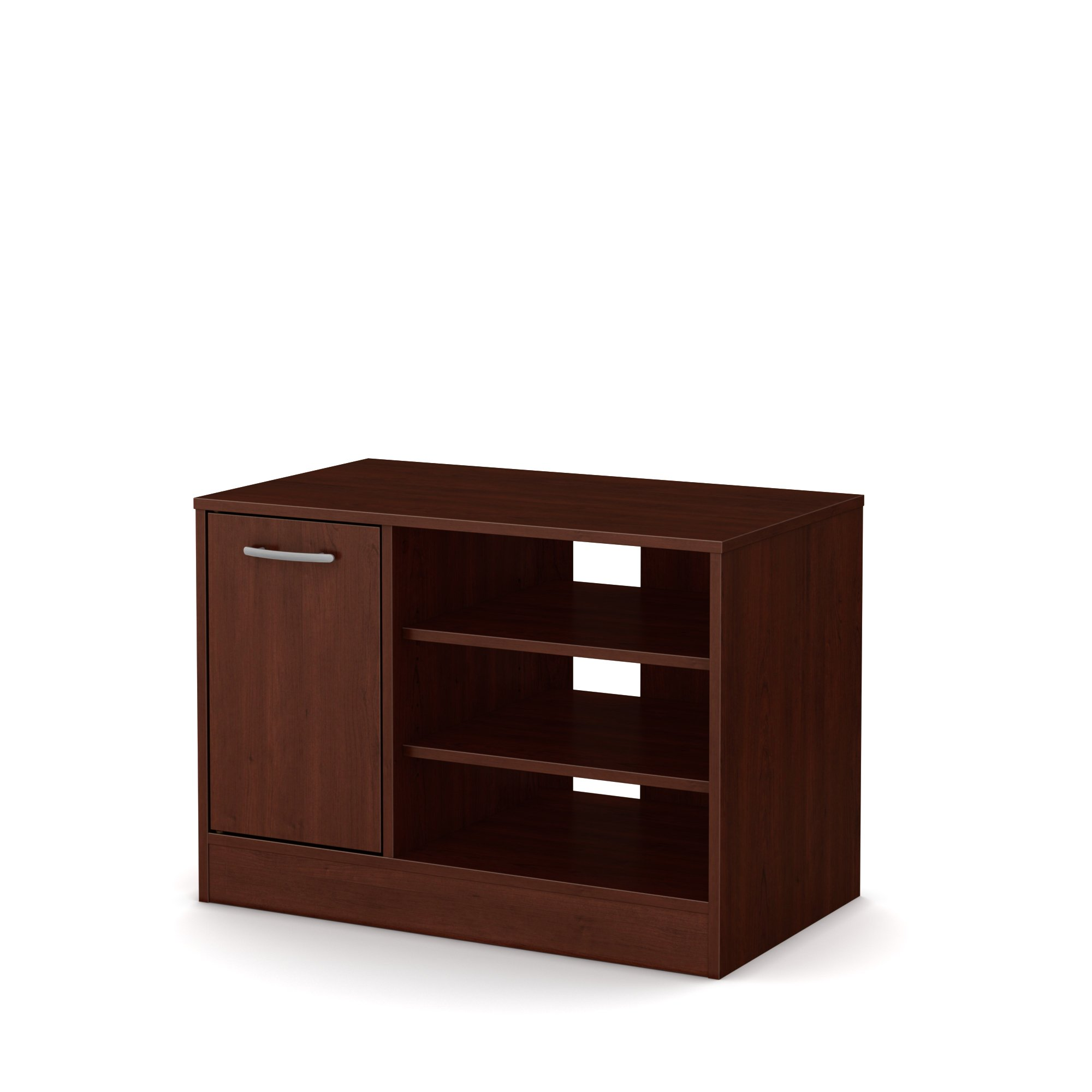 South Shore Axess TV Stand - Fits TVs Up to 42'' Wide - Royal Cherry