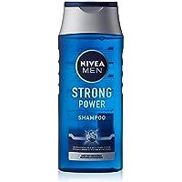 NIVEA Men Strong Power Shampoo, 81423-01000-54, per stuk verpakt (1 x 250 ml)