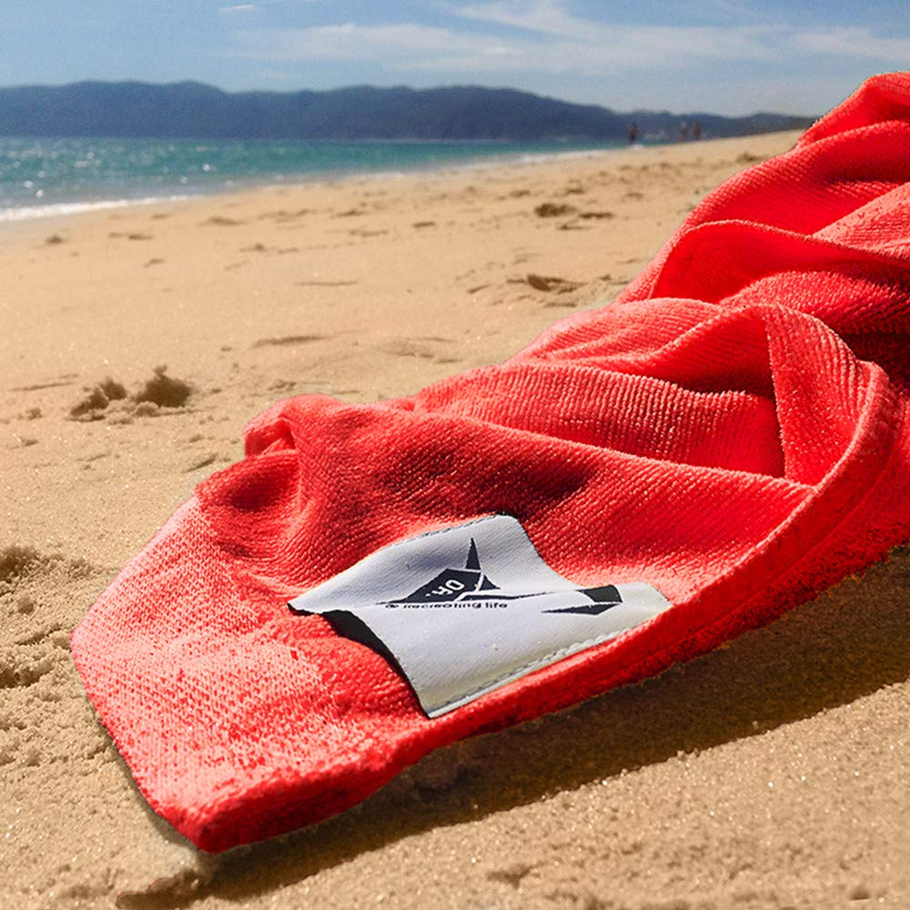 Origama Tribal Empire - Beach & Pool Towel with backrest. Beach Towel, Beach Chair and Sun Lounger in one Product for Kids & Adults. Towel 100% Cotton Materials w/Set of Wood That Turns into Chair by Origama (Image #6)