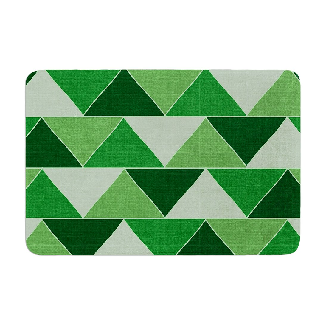 Kess InHouse Catherine McDonald Emerald City Memory Foam Bath Mat 17 by 24