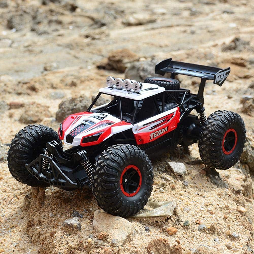yingmu 1:14 Jouet de véhicule Hors Route - 2.4Ghz Télécommande à Grande Vitesse d'escalade à télécommande, Jouet de Camion électrique Anti-Choc pour Enfants Adultes Advantage rouge