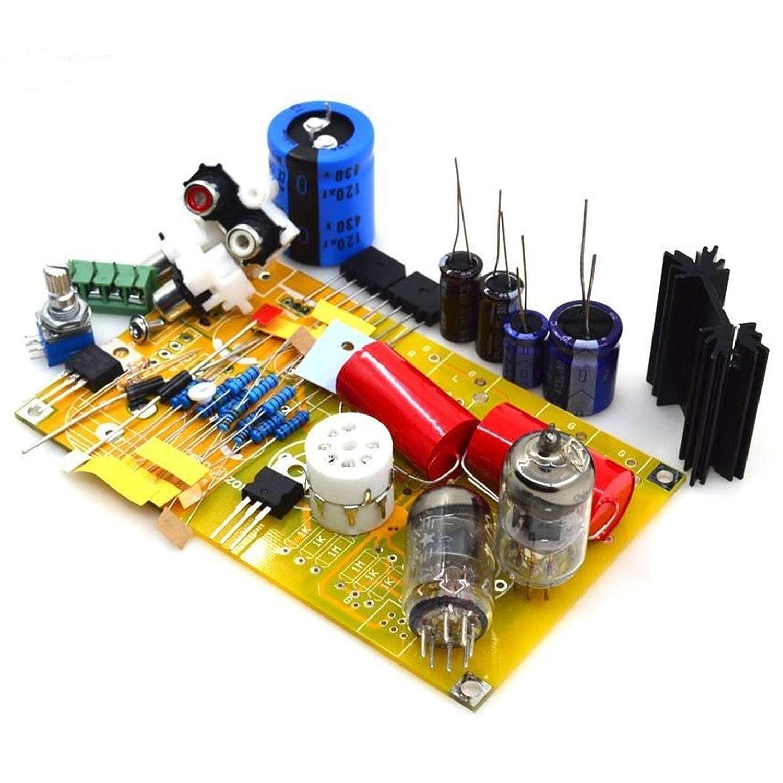 6J1 Tube Preamplifier Kit Diy Vacuum Pre Amp Board PRT-01A: Amazon