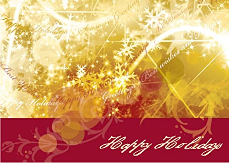 Amazon holiday greeting cards h9001 business greeting card holiday greeting cards h9001 business greeting card with a holiday theme and gold and m4hsunfo