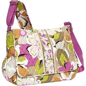 d80ebdd03bbc Amazon.com   Vera Bradley Messenger Baby Bag (Portobello Road)   Baby