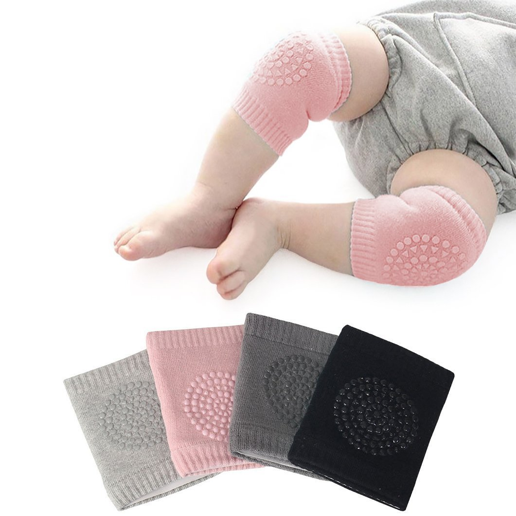 New Safety Pair Infant Toddler Baby Knee Pad Crawling Safety Protector Crawling Protective Knee/Elbow Pads for Toddler Baby Infant Kids Q4U Q4UKP