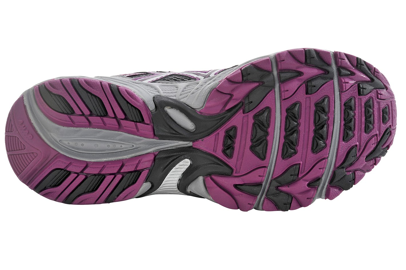 ASICS Women's Gel-Venture 5 Trail Running Shoe, Frost Gray/Gray/Silver/Magenta, 6 M US by ASICS (Image #7)
