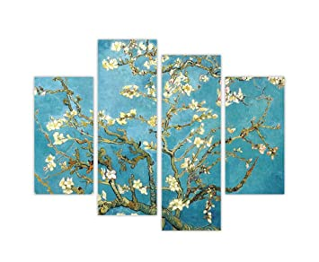 Vincent Van Gogh, Mandorlo, stampa su tela, per casa decorazione ...