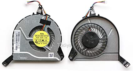 Genuine New HP 15-P Series Laptop CPU Cooling Fan DFS200405040T FFDF 767776-001