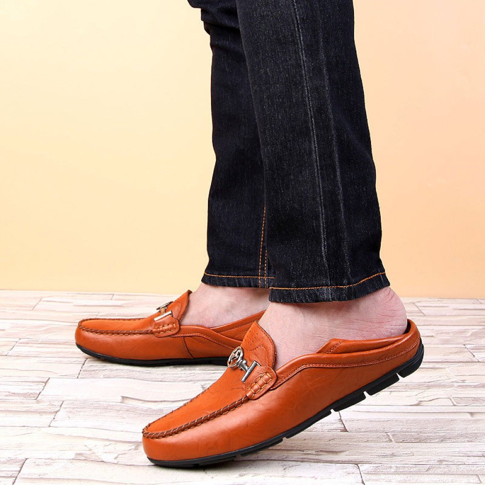 ZLLNSPX Mens Peas Schuhe Fashion Lederschuhe Fahr Fahr Fahr Schuhe 4c60eb