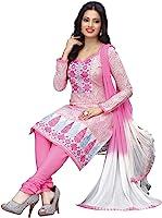 RK Fashion Women's Cotton Dress Material (RAJGURU-PAHELI-9289_Free Size_Pink)