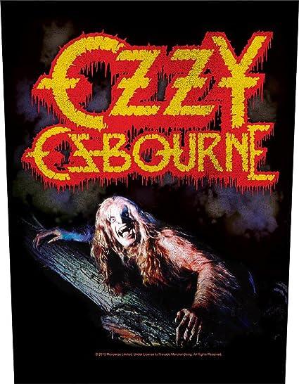 Ozzy Osbourne Patch Heavy Metal Band