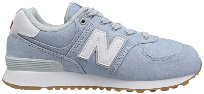 574v1 Beach Kids' Sneaker New Chambray Balance 0knwPO