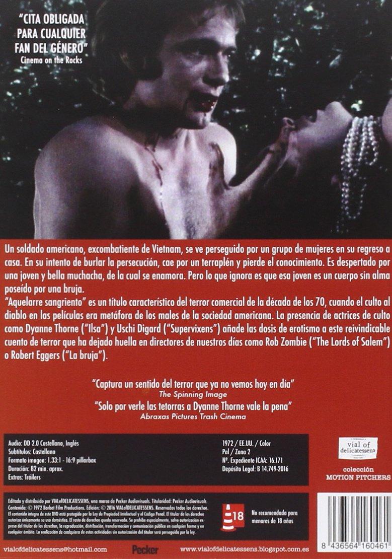 Aquelarre sangriento [DVD]: Amazon.es: Anthony Geary, Susan ...