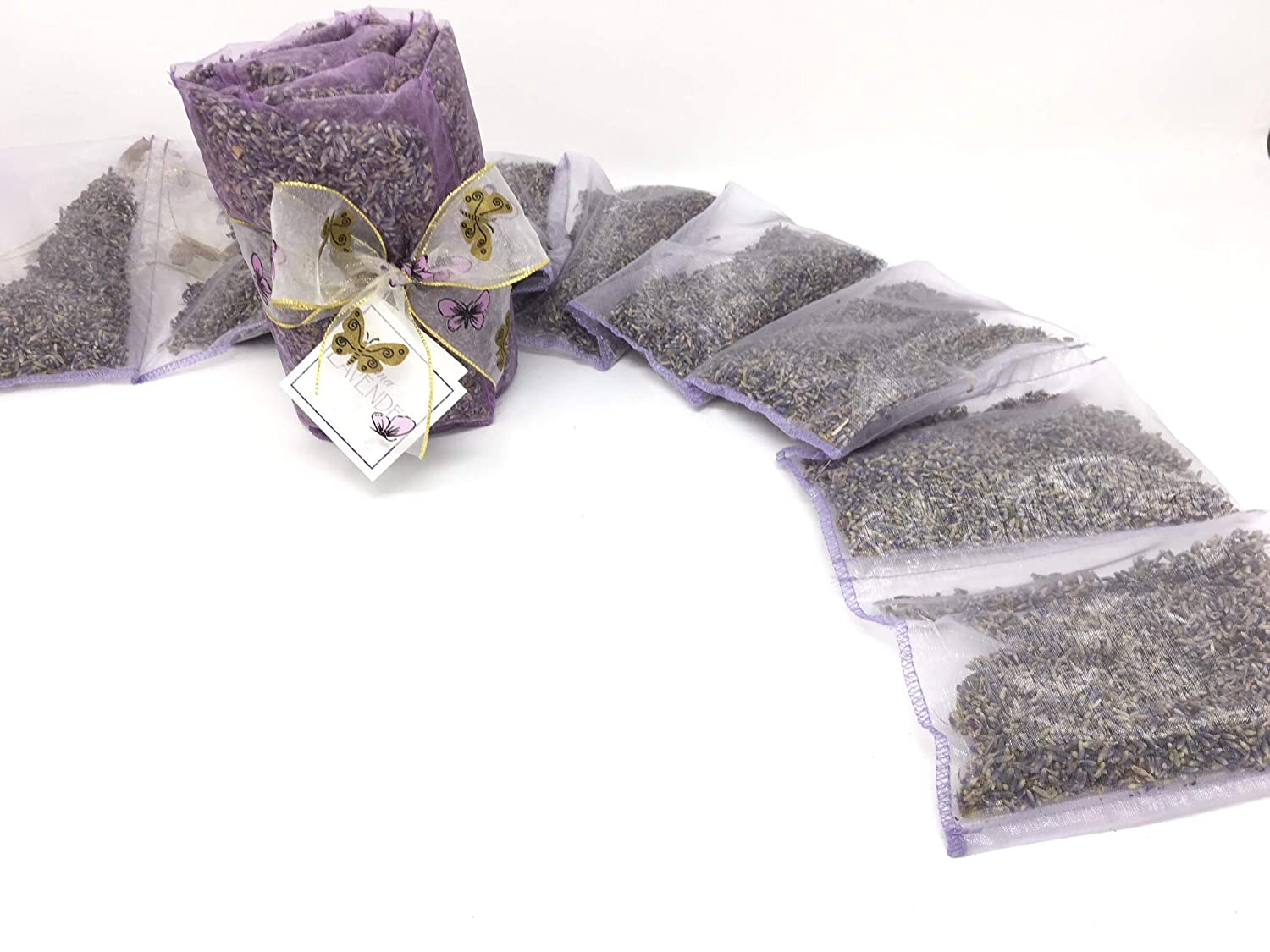wardrobes and environments BAGS LAVENDER BIO Christmas gifts 1 Set of two pieces for drawers