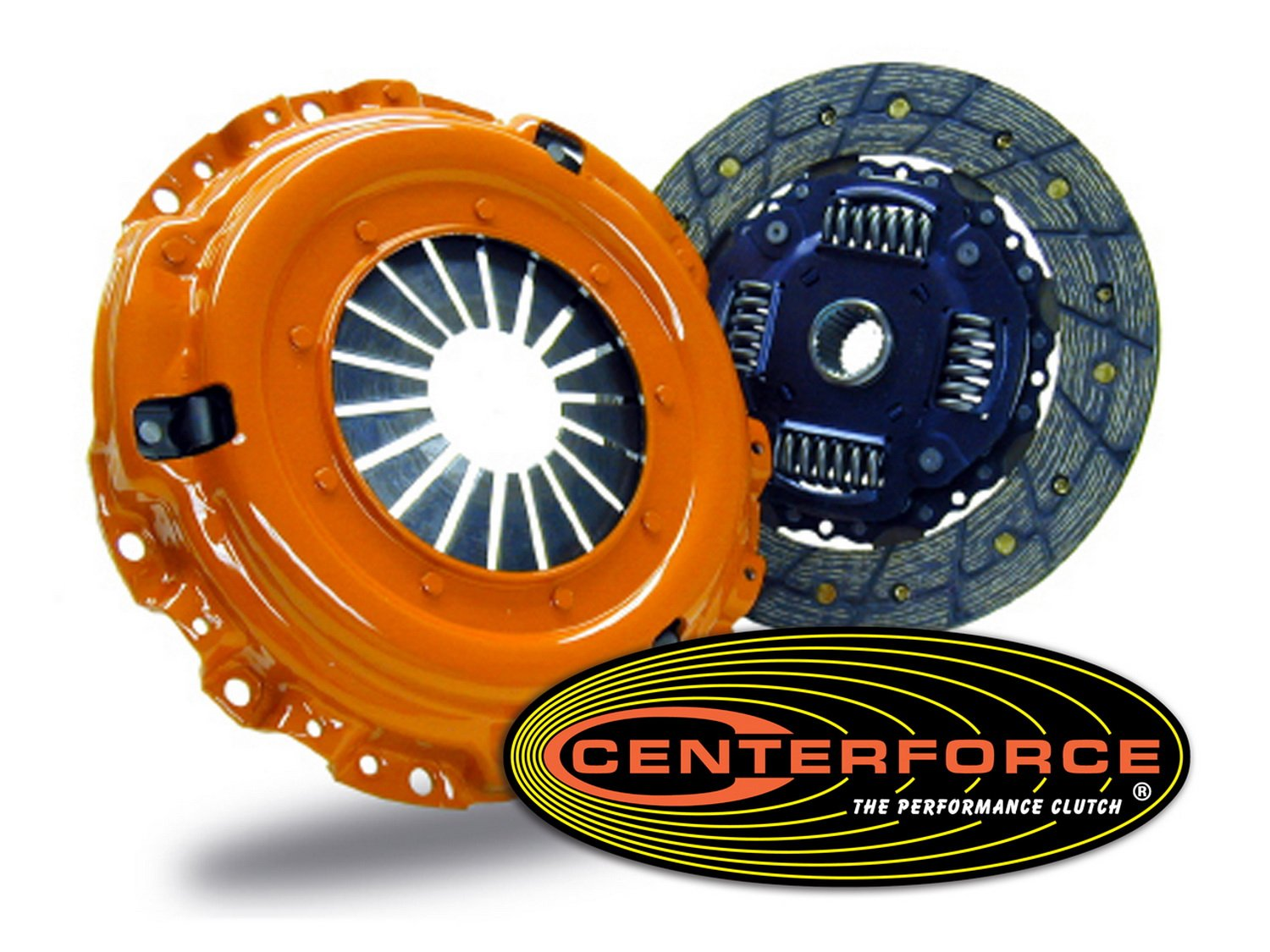 Centerforce CFT900800 Centerforce II Clutch Pressure Plate and Disc by Centerforce
