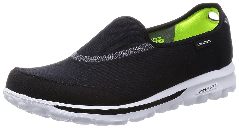 Skechers Gowalk Impress, Damen Sport-  Outdoor Sandalen  38 EU|Schwarz (Bkw)