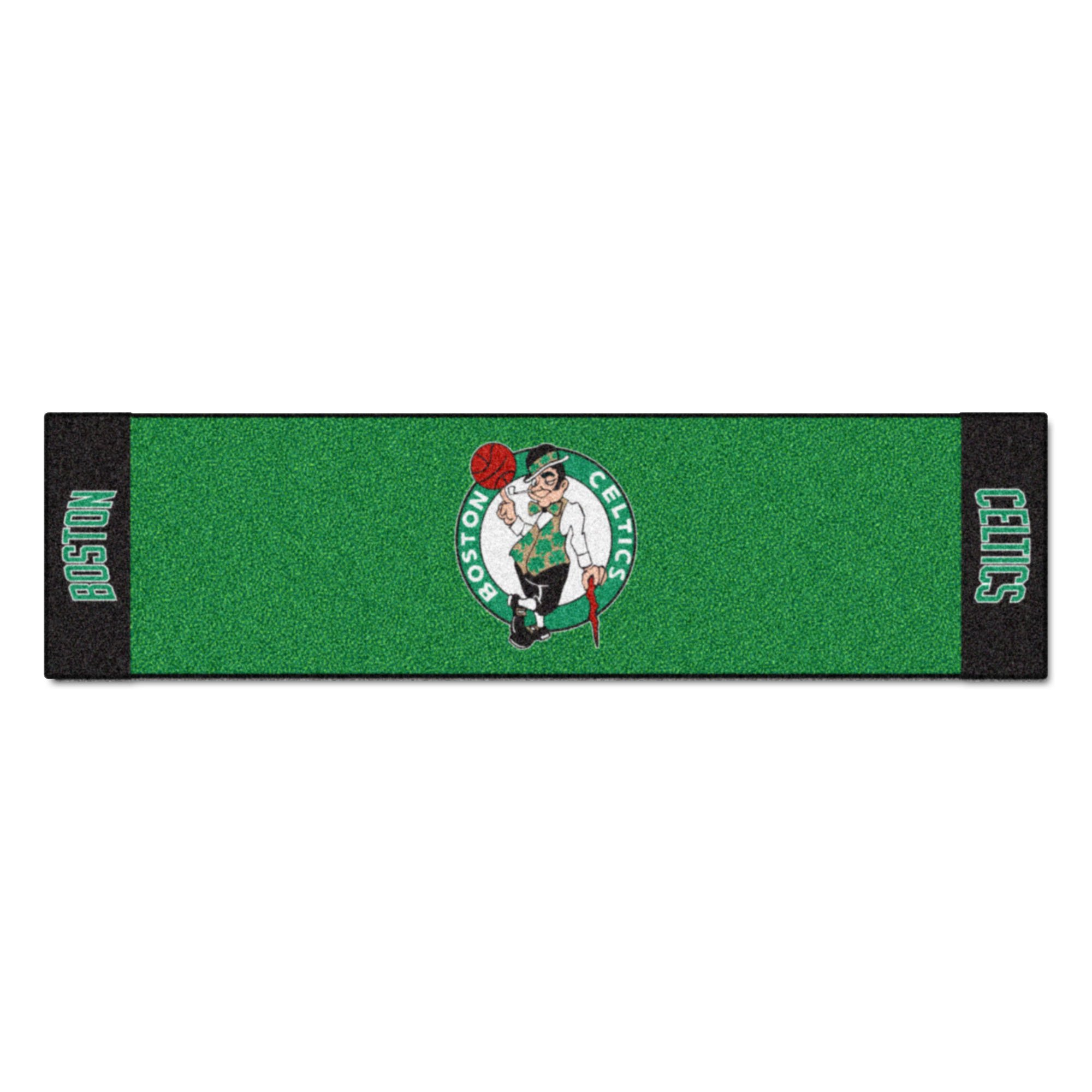 Fanmats NBA Boston Celtics Nylon Face Putting Green Mat by Fanmats