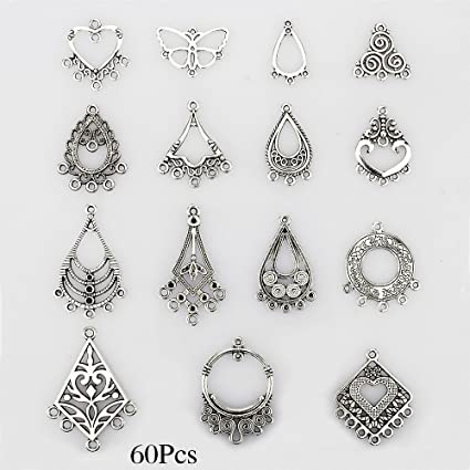 Amazon lollibeads tm antiqued tibetan silver earring lollibeads tm antiqued tibetan silver earring chandelier earring jewelry making kit for earring drop mozeypictures Images