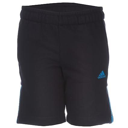 Schwarzblaue adidas shorts