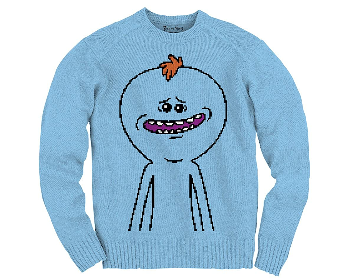 Ripple Junction Rick and Morty Meseeks Knit Adult Knit Sweater