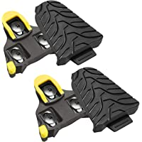 NAACOO Bike Cleats Compatible with Shimano SPD Sl(SH10 SH11 SH12),SPD SH51 Cleats for Indoor Outdoor Peloton Spin…
