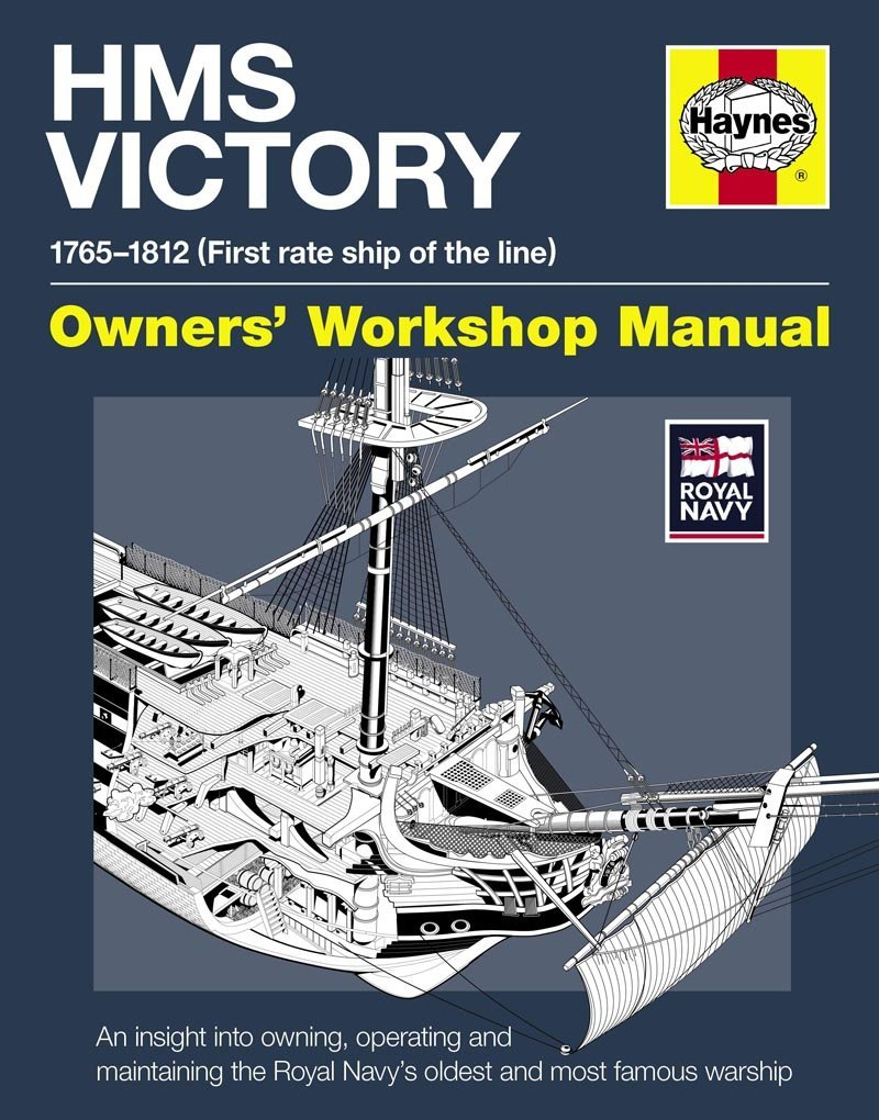 HMS Victory Manual 1765-1812: An Insight into Owning, Operating and Maintaining the Royal Navy's Oldest and Most Famous Warship (Owners' Workshop Manual)