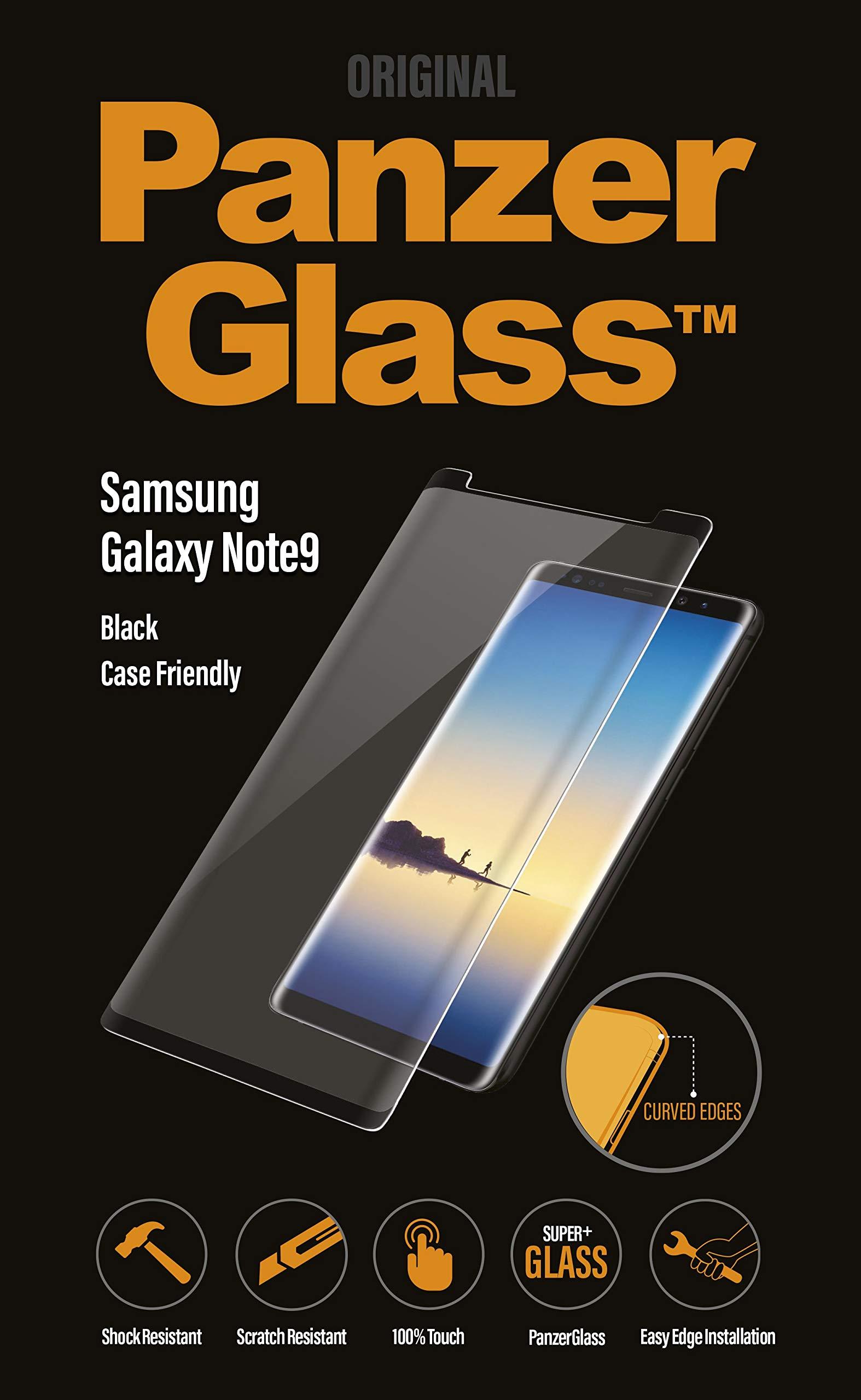 PanzerGlass Case Friendly for Galaxy Note 9 Black