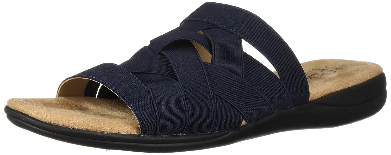 Women/'s Size 5.5M +LifeStride Emilia Elastic Strap Slide Sandals Blush NEW