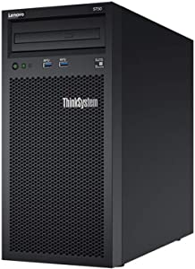Lenovo ThinkSystem ST50 Tower Server Including Intel Xeon 3.4GHz CPU, 32GB DDR4 2666MHz RAM, 6TB HDD Storage, JBOD RAID