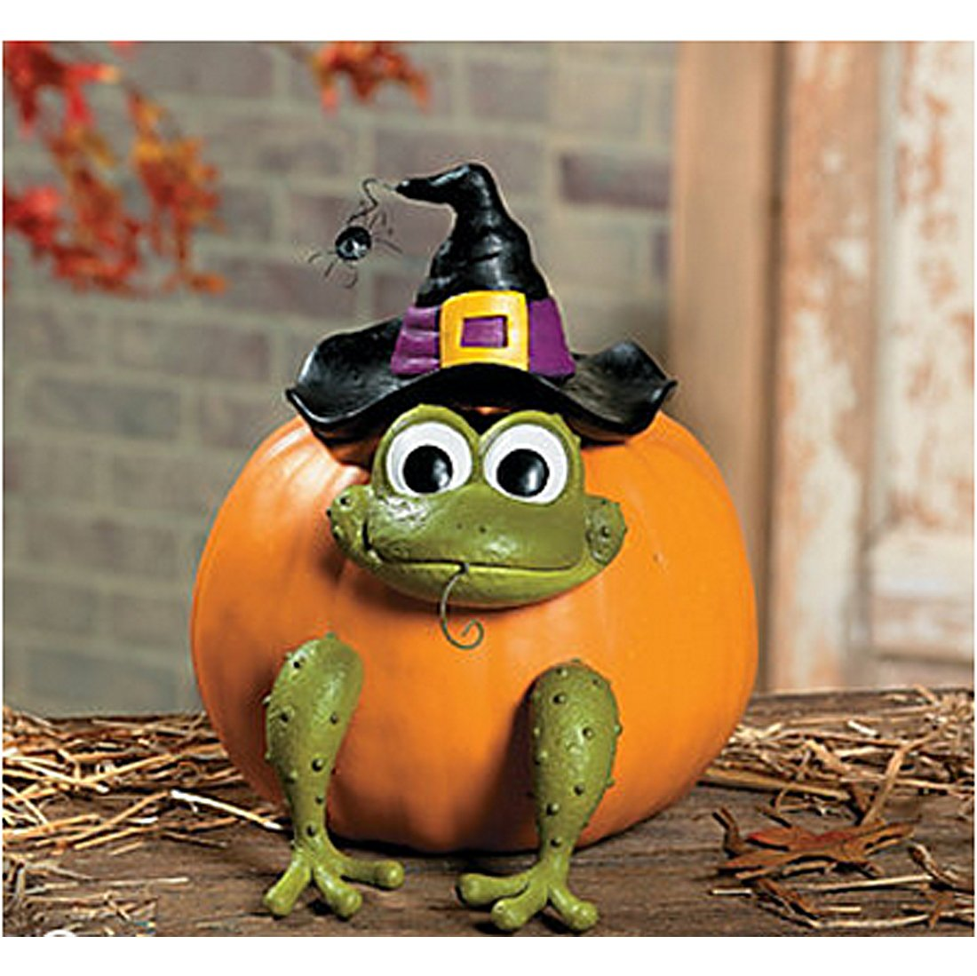 Fun Express Halloween Frog Witch Pumpkin Poke In Head and Legs - 1 Piece