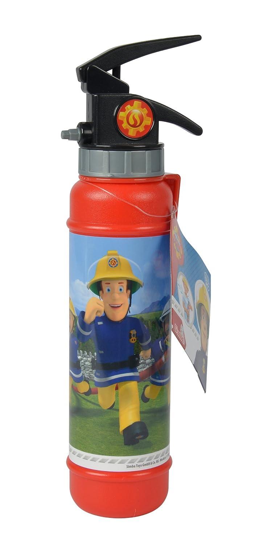 SIMBA 109252125–Sam Il Pompiere estintore Gocce d' Acqua Simba Toys