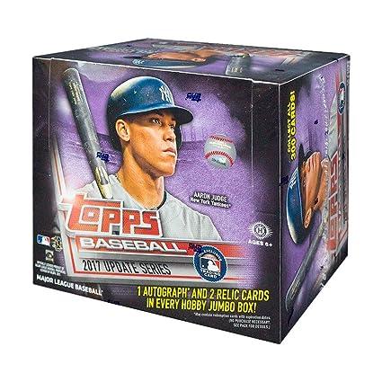 Amazoncom 2017 Topps Update Baseball Hta Jumbo Hobby Box
