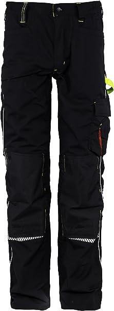 TALLA 38W / 31L / EU54. Stenso Prisma® - Pantalones Cargo de Trabajo para Hombre - Resistentes y con numerosos Bolsillos