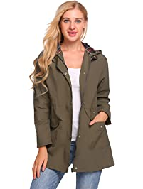 Women S Raincoats Amazon Com