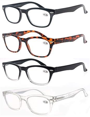 Amazon.com: MODFANS - Gafas de lectura para hombre y mujer ...