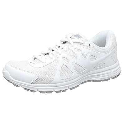 Nike Men's Revolution 2 MSL White Running Shoes (N554954100) (11 ...