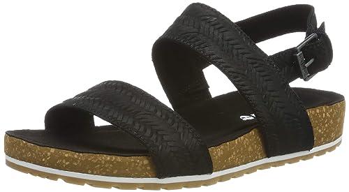 e05cf627 Timberland Womens Malibu Waves 2-Band Suede Sandals: Amazon.ca ...