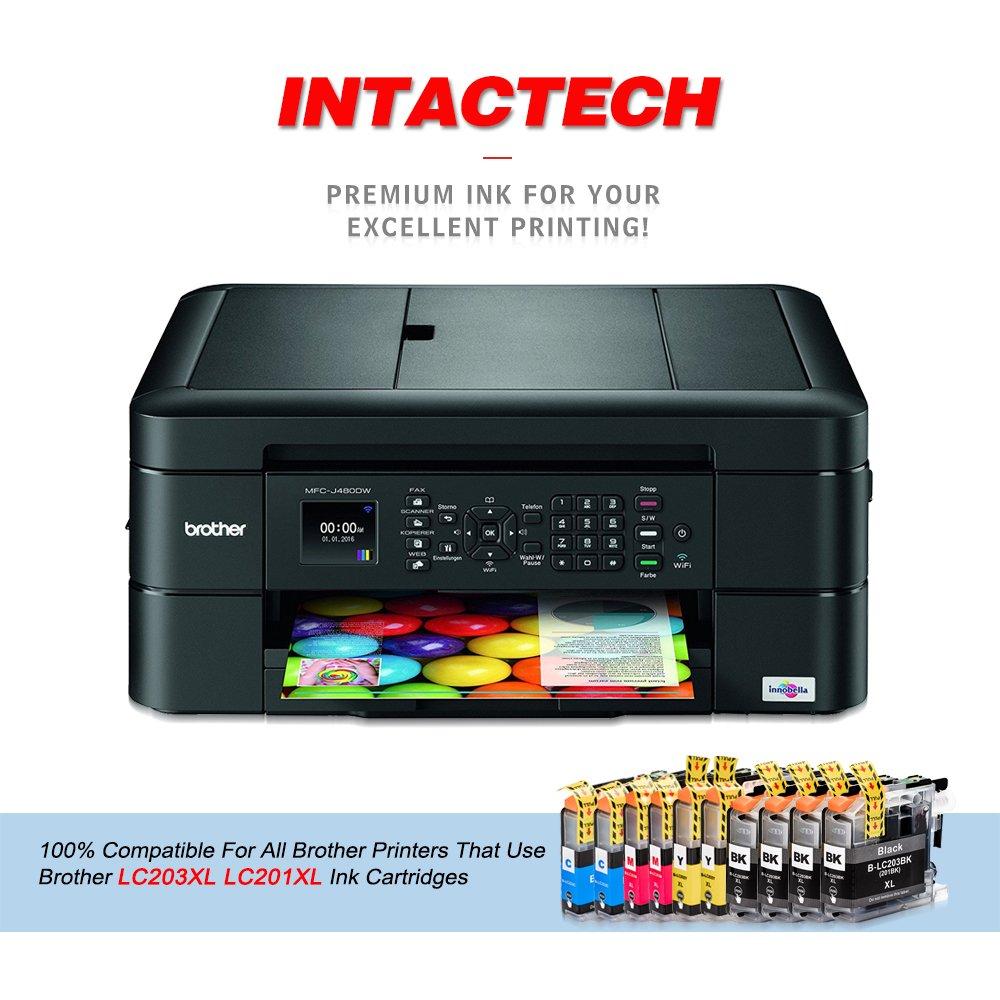 10 Pack cartucho de tinta compatible con Brother LC203 X L ...