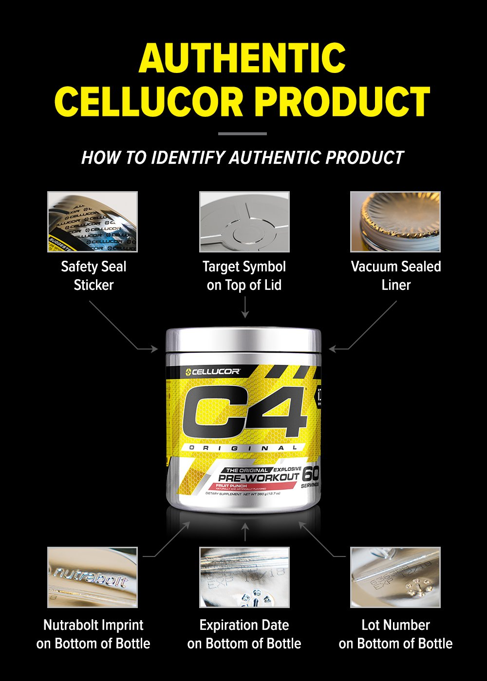 Amazon.com: Cellucor NO3 Chrome Nitric Oxide Pump Amplifier, Pre ...