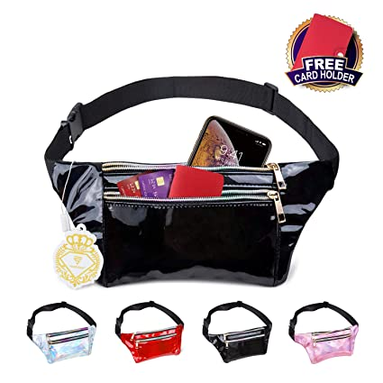 Fashion Women Man Sport Running Waist Bag Hiking Camping Colorful Waist Bags Chest Handbag Money Card Phone Bags Luggage & Bags