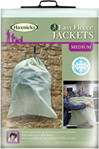 Tierra Garden 50-8010 Haxnicks Easy Fleece Jacket, 3-Pack, Medium