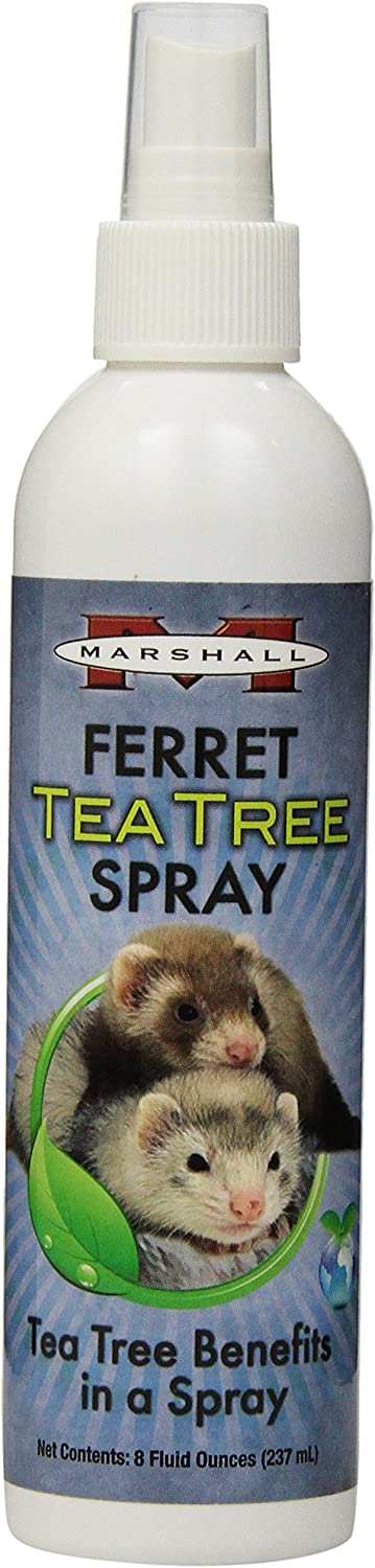 Marshall 8-Ounce Ferret Tea Tree Spray : Flea Control For Ferrets : Pet Supplies
