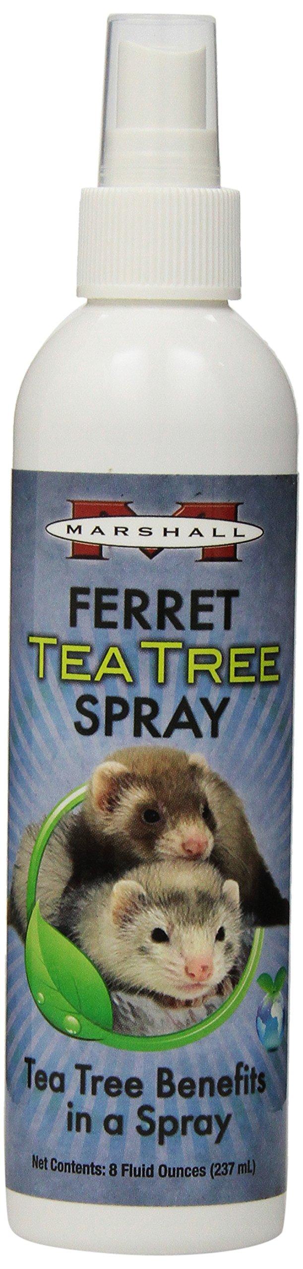 Marshall 8-Ounce Ferret Tea Tree Spray by Marshall Pet Products