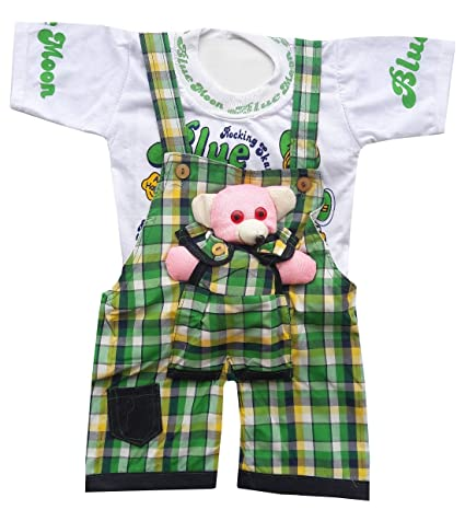 9cbfe5e4864e BabyMart Baby Boys Baby Girls Party Wear Casual Wear Printed Check Hight  Quality Printed Summer Wear